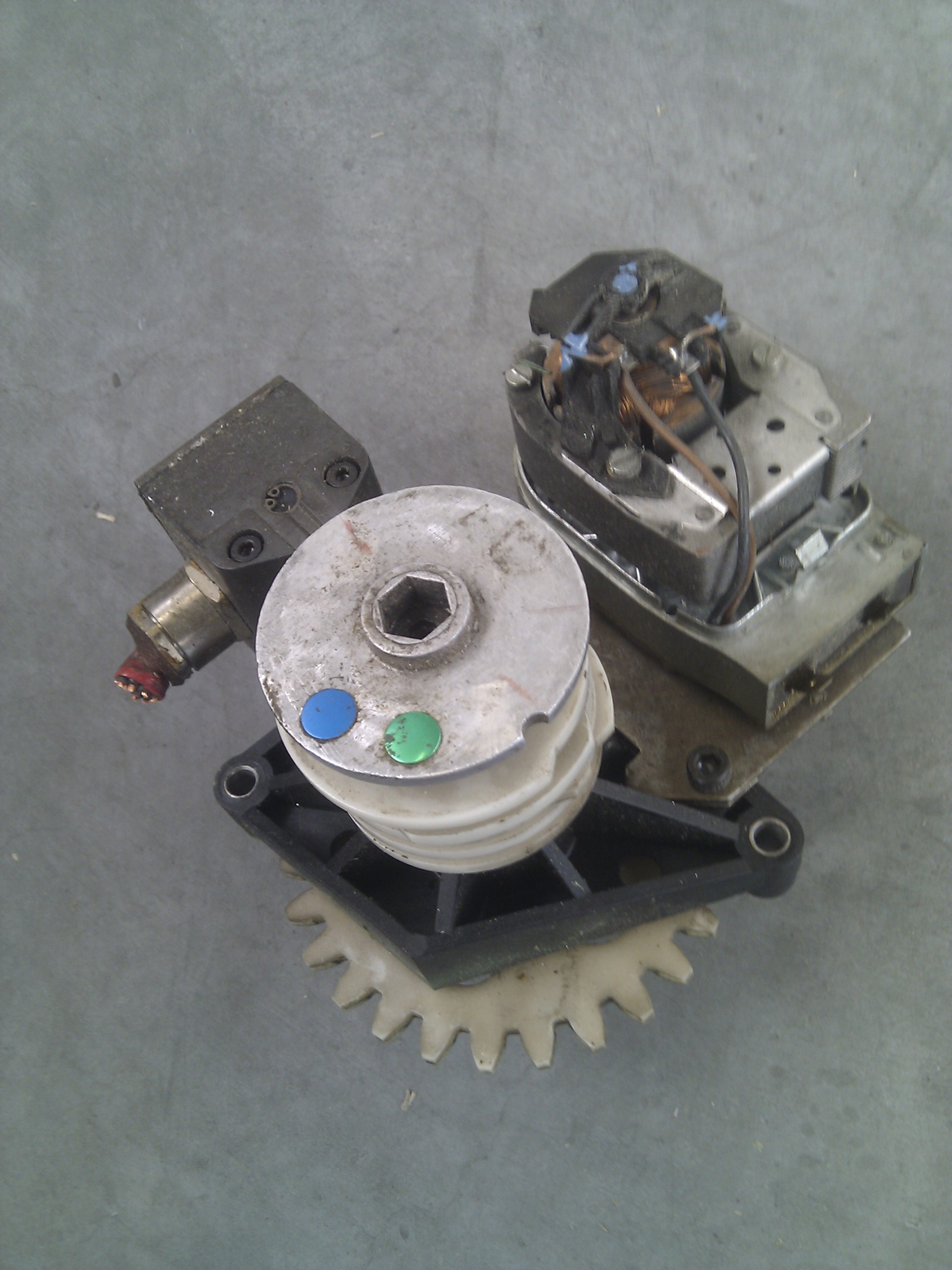 Maho Gearbox motor compleet